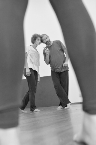 St Petersburg Contact Improvisation - image by Alexander Koval