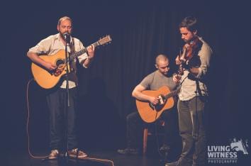 Ronan Kearney, Dave Stevenson and Colin Norrby (NI)